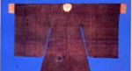 沅陵出土文物:圆领古袖袍服饰